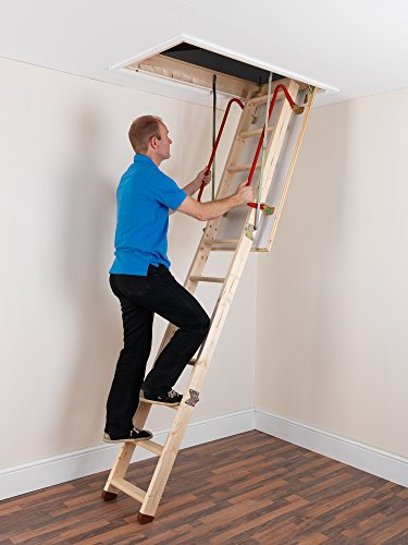 TB Davies EnviroFold Wooden Loft Ladders - Inc. 26mm Insulated Hatch |...