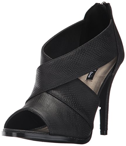 Michael Antonio Women's Laster-rep Dress Sandal, Black, 8 W US from Michael Antonio