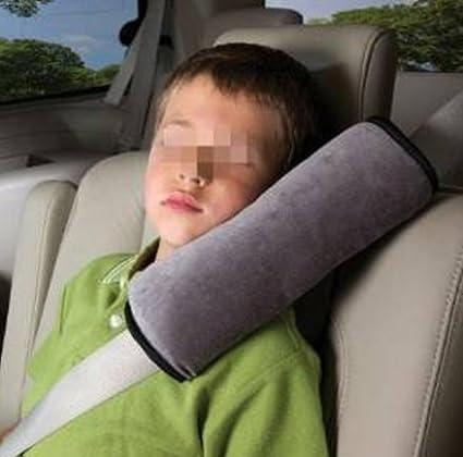 Dgg copri cintura per bambini Beige rosa rosso bambini auto copricintura morbido cuscino poggiatesta cuscino di sostegno