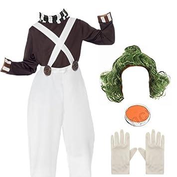Fun Shack Child Fancy Dress Factory Worker Boy Costume Umpa Lumpa Extra Large UK
