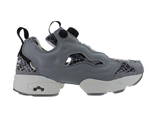 Grau Instapump Fury Silber Womens Sneaker Reebok IxR0wZTq0