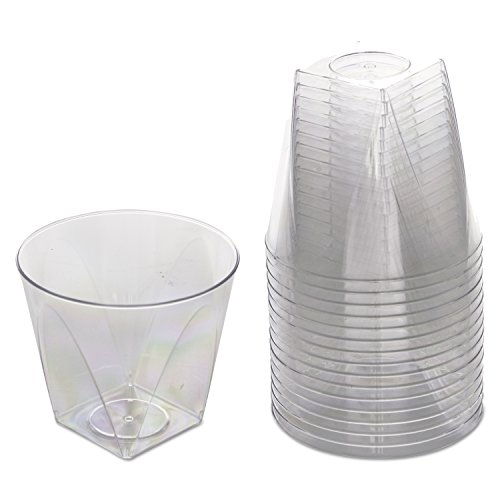 WNA Milan 16 Count Tumblers, 9 oz, Clear