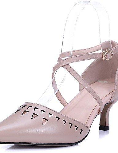 tacones boda Vestido rosa us8 5 Ternero Ggx us7 Uk5 Eu38 En Pink Pink Noche Puntiagudos Cn39 Zapatos tacones 5 Y Stiletto pelo Fiesta Tira De El Uk6 Mujer tacón Cn38 Eu39 Tobillo pOUXH7qO