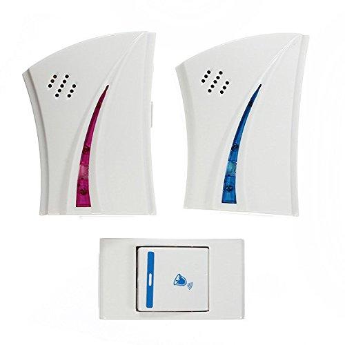 Wireless Doorbell - Wireless Doorbell Kit - 9510FD3 36 Music Tune Wireless Doorbell Nice Doorbell (Musical Doorbell Wireless) by Unknown