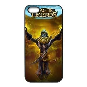 iphone5 5s phone case Black League of Legends Malzahar SSS6572564