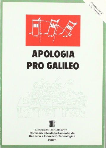 Descargar Libro Apologia Pro Galileo Mireia Vives I Puig