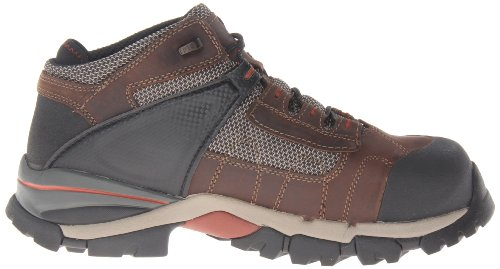 Pictures of Timberland PRO Men's Hyperion Four-Inch Brown Distressed Leather/Fabric 3