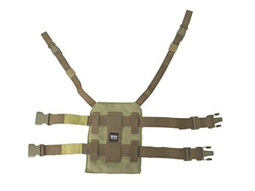 BE-X Beinplatte für modulare Taschen mit Schnelltrennsystem - multicam bcpE094