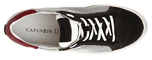 Sneaker Vintage 45 Sportive Cafè PC934 Noir Uomo Effetto Scarpe Bianche ZSaqBUZ