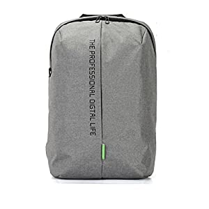 Laptop Backpack 15.6 Inch Waterproof Nylon Bags Business Dayback Men and Women's Knapsack Black