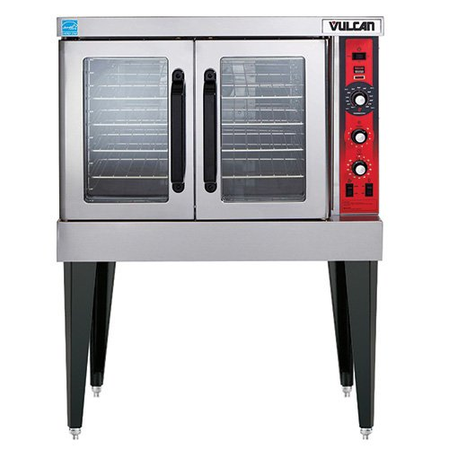 Vulcan Countertop - Vulcan VC4ED Electric Convection Oven - Single Stack, Standard Depth, Free KIT