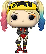 Funko Pop! Heroes: Birds of Prey - Harley Quinn (Roller Derby), 3.75 inches