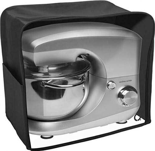 Andrew James negro Premium mezclador de alimentos cubierta de polvo con ventana de visualización transparente apto para todos los Kenwood Chef and Andrew James comida mezcladoras: Amazon.es: Hogar