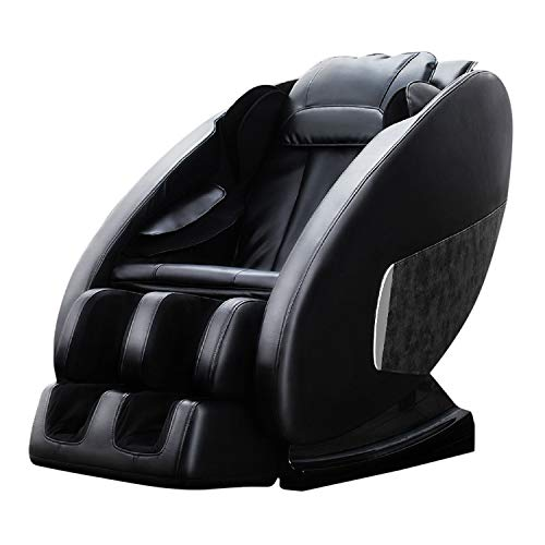 OOTORI Full Body Massage Chair, Zero Gravity Shiatsu Massage Chair, with Footrollers and Heater(Black).