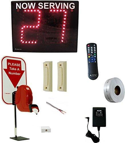 Take-A-Number System w/ ticket dispenser