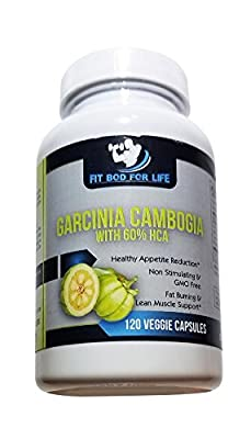 Garcinia Cambogia, 100% Pure Garcinia Cambogia Extract with HCA, Extra Strength 1600mg All Natural Assists Appetite Suppressant, Carb Blocker, Weight Loss Supplement, 2 Month Supply