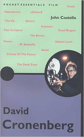 Book David Cronenberg (Pocket Essentials) by John Costello (2000-10-10)