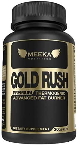 MEEKA Thermogenic Fat Burner - Metabolism Booster | an Appetite Suppressant, Energy Boosting, Non-Habit Forming Weight Loss Diet Pills for Men & Women |with Green Tea, Garcinia Cambogia - 30 Servings