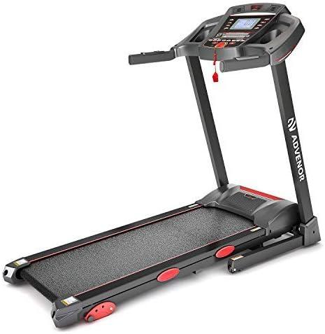 ADVENOR Treadmill Motorized Treadmills 3.0 HP Electric Running Machine Folding Exercise Incline Fitness Indoor 64 Preset Program