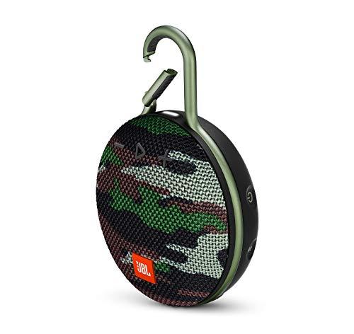 JBL Clip 3 Portable Waterproof Wireless Bluetooth Speaker – Camouflage