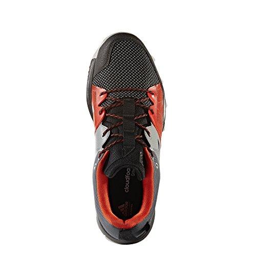 adidas Kanadia 8.1 Tr, Zapatillas de Running para Asfalto para Hombre, Negro Negro (Core Black/core Black/energy)