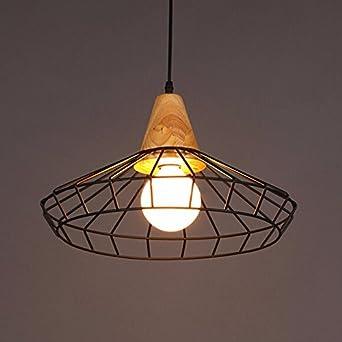 lina-creative de madera lámparas de hierro minimalista sala estar ...