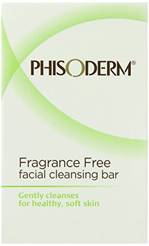 (Phisoderm Fragance Free Facial Cleansing Bar, 3.3 ounce Bar, 2 Count, 6.6 Ounce (Pack of)