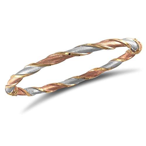 Bracelet jonc 3 couleurs