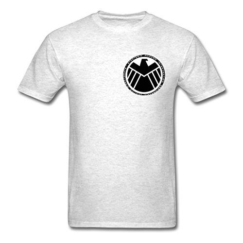 Black Hawk logo Men's classic Light oxford Customize for T-shirt Small