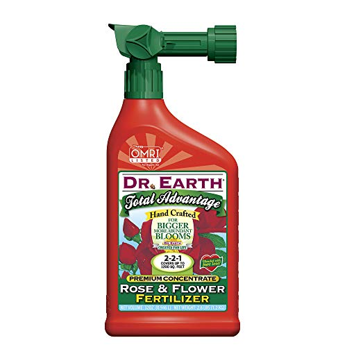 Dr. Earth INC 1016 Total Advantage Flower Liquid Fertilizer 32oz, 32 oz