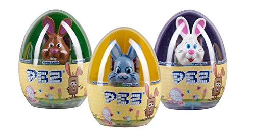 Easter Egg PEZ Dispensers with Candy (Fruit, 1-Count)
