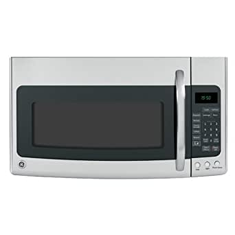 GE JVM1950SRSS Spacemaker 1.9 Cu. Ft. Stainless Steel Over-the-Range Microwave