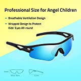 TOREGE Kids Polarized Sports Sunglasses for