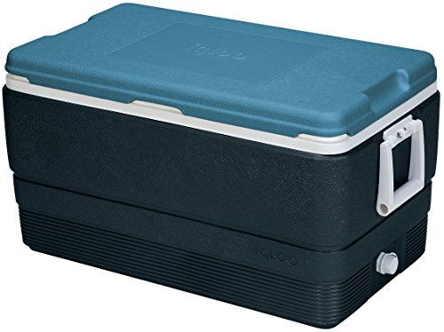 Igloo MaxCold 70 Quart Cooler, Jet Carbon/Ice - Ice Carbon