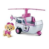 El helicóptero, vehículo y figura de High Flyin 'de Paw Patrol Skye
