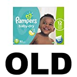 Pampers Baby-Dry Disposable Diapers Size 5, 160 Count, ECONOMY PACK PLUS