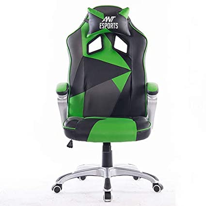 Super Ant E Sports Wb 8077 Green Pu Pvc Black Metal Frame 80Mm Class 2 Gas Fit 350Mm Metal Base Adjustable Backrest Angle 90 135 Degree Gaming Chair Caraccident5 Cool Chair Designs And Ideas Caraccident5Info