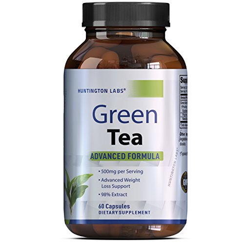 Green Tea Extract Capsules - Pure Extract - Weigh Loss ...