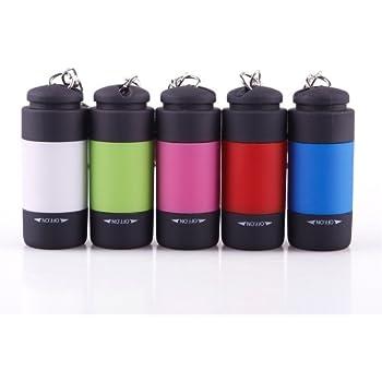 Amazon.com: NUEVO Mini llavero linterna de bolsillo ...