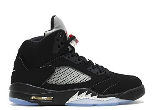 Nike Air Jordan 5 Noir Métallique 2016-845035-003 ...