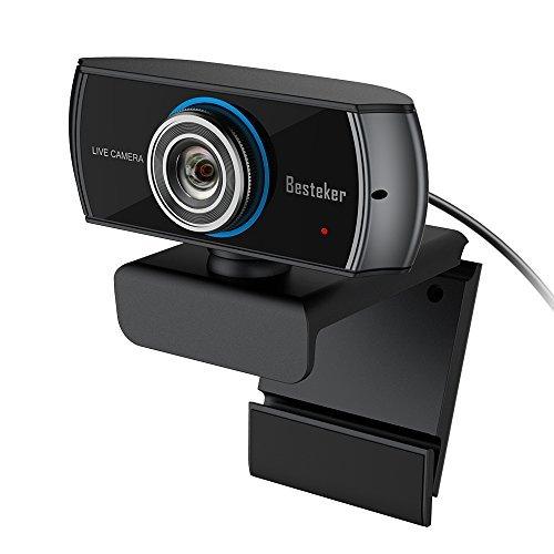 3. Besteker 1536P Full HD Webcam
