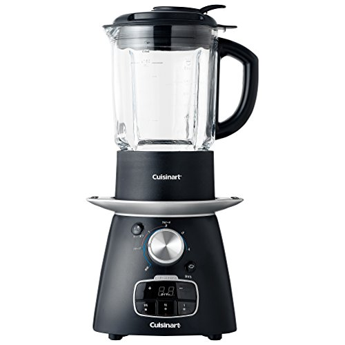 Brand New NEW Cuisinart SBC 1000 Blend and Cook Soup Maker - 900 Watt Black Blender (Cuisinart Shake Blender compare prices)