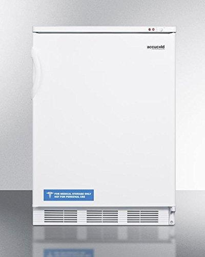 (Summit VT65M Upright Freezer, White)