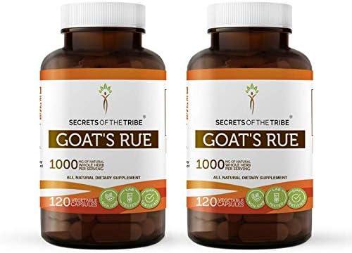 Goat s Rue 120 Capsules 2 pcs. , 1000 mg, Organic Goat s Rue Galega officinalis Dried Herb 2×120 Capsules