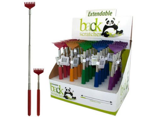 Bulk Buys OC045-25 Extendable Back Scratcher Counter Top Display by bulk buys
