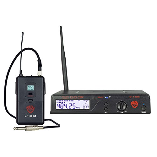- Nady U-1100 GT 100-Channel UHF Wireless Instrument/Guitar System