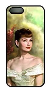iPhone 5 Case - Thin Shell Plastic Case iPhone 5 Case - AUDREY HEPBURN by Maris's Diary