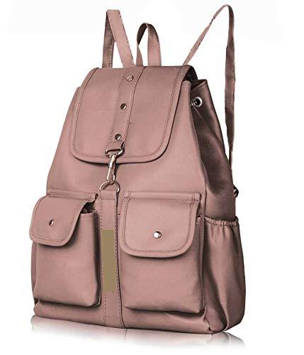 PU Leather Backpack School Bag Student Backpack 10 L Backpack