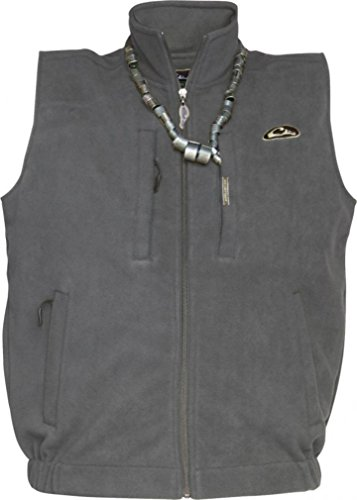 Drake MST Windproof Layering Vest (Gray) (Men's Small)