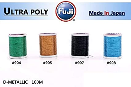 Pick Color Fuji UltraPoly 100m Metallic Size A Rod Building Thread Fishing